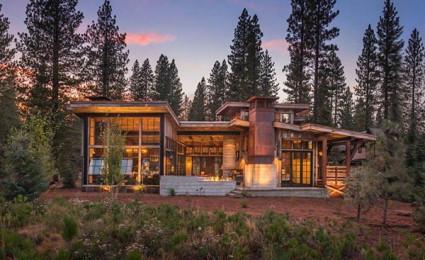 Biệt thự nghỉ dưỡng trong rừng tại California
