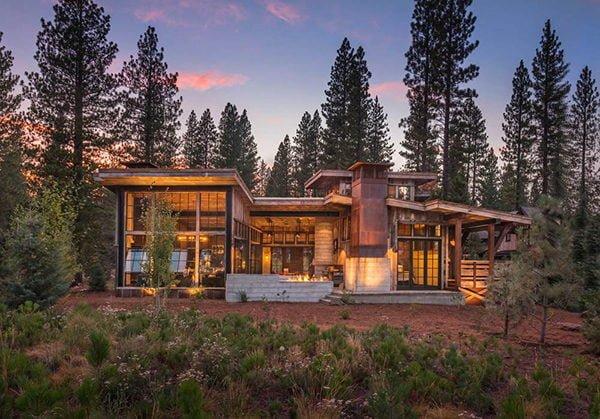 bt nghi duong 1 Biệt thự nghỉ dưỡng trong rừng tại California qpdesign