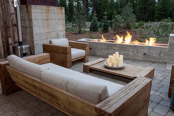 bt nghi duong 12 Biệt thự nghỉ dưỡng trong rừng tại California qpdesign