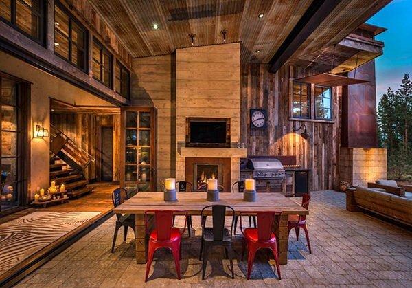 bt nghi duong 13 Biệt thự nghỉ dưỡng trong rừng tại California qpdesign