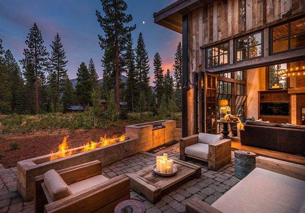 bt nghi duong 14 Biệt thự nghỉ dưỡng trong rừng tại California qpdesign