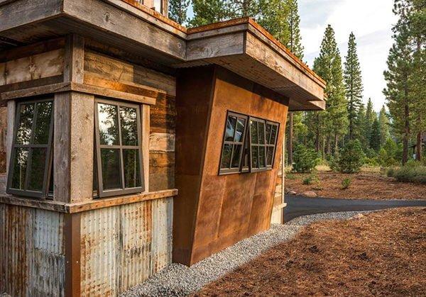 bt nghi duong 4 Biệt thự nghỉ dưỡng trong rừng tại California qpdesign