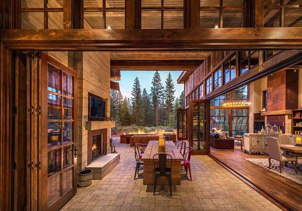 bt nghi duong 5 Biệt thự nghỉ dưỡng trong rừng tại California qpdesign