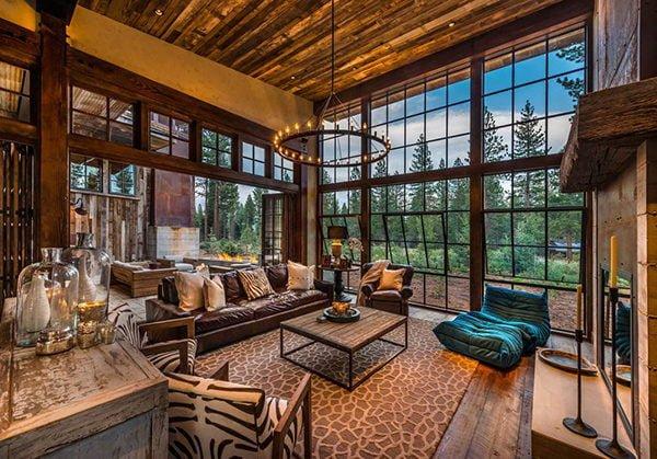 bt nghi duong 7 Biệt thự nghỉ dưỡng trong rừng tại California qpdesign