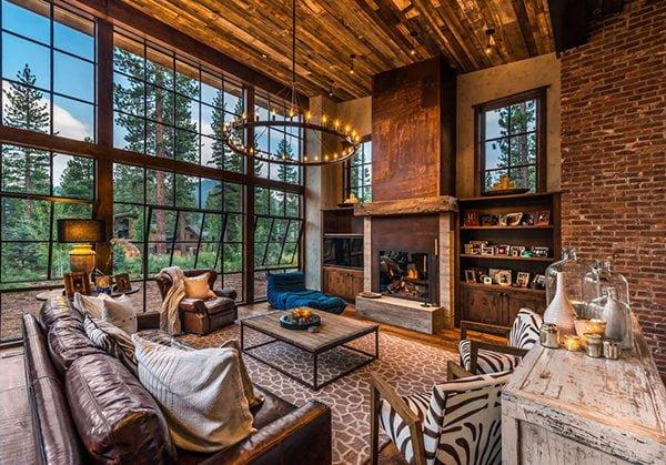 bt nghi duong 8 Biệt thự nghỉ dưỡng trong rừng tại California qpdesign