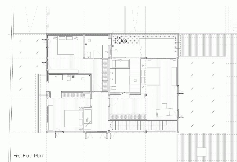 bt thao dien 201 HL House: Thiết kế nhà phố  với 7 không gian xanh ở Quy Nhơn qpdesign