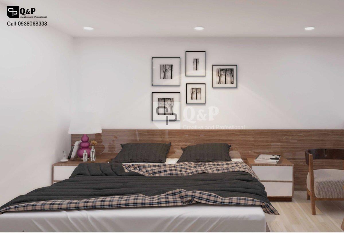 can ho cho thue 6 Thiết kế chung cư mini Ronic qpdesign