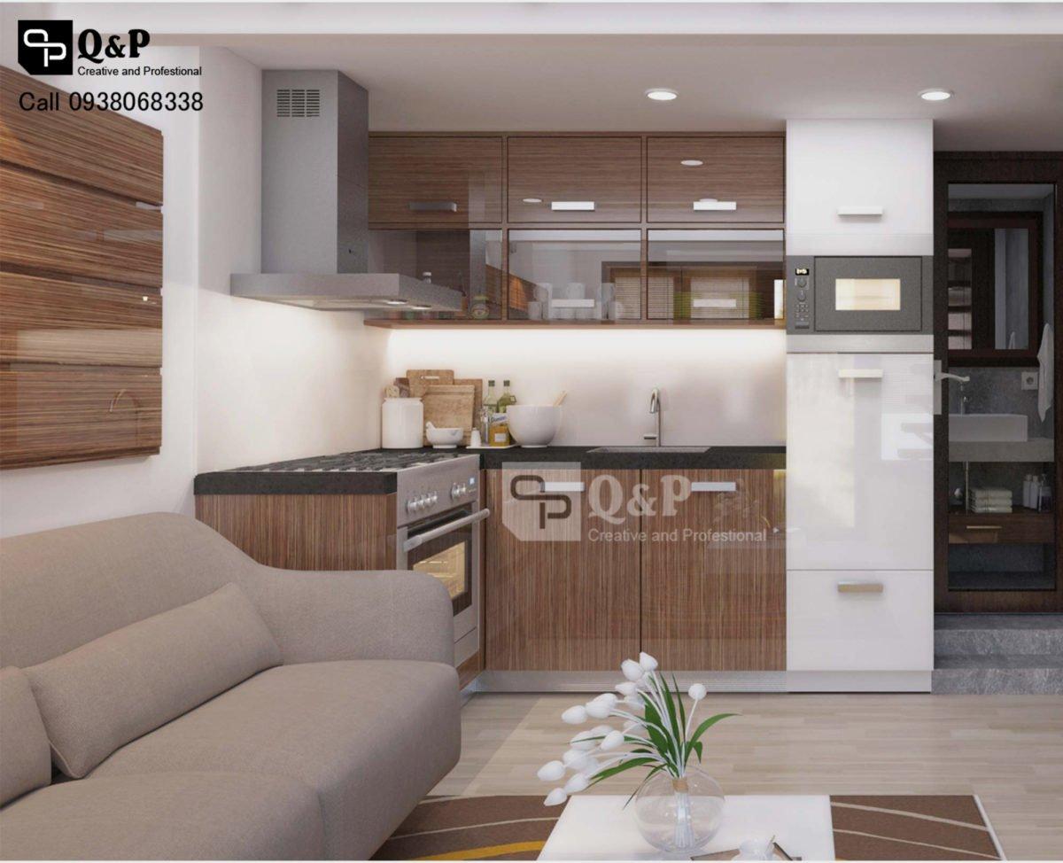 can ho cho thue 8 Thiết kế chung cư mini Ronic qpdesign