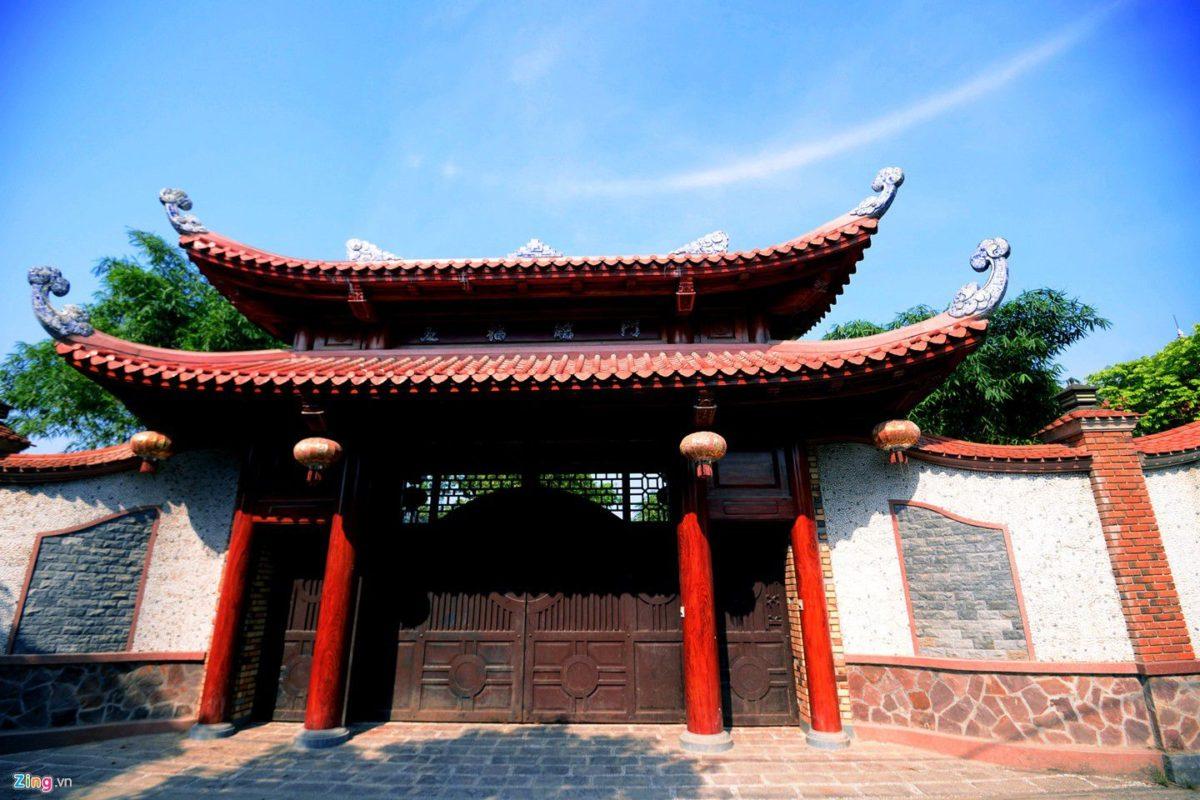 dinh thu 13 qpdesign Tham quan dinh thự bằng gỗ quý của đại gia xứ Nghệ qpdesign
