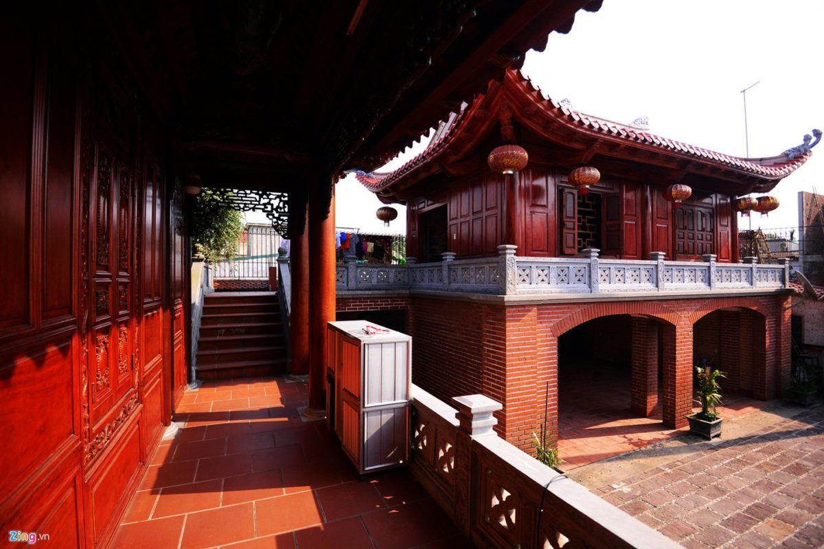 dinh thu 5 qpdesign Tham quan dinh thự bằng gỗ quý của đại gia xứ Nghệ qpdesign