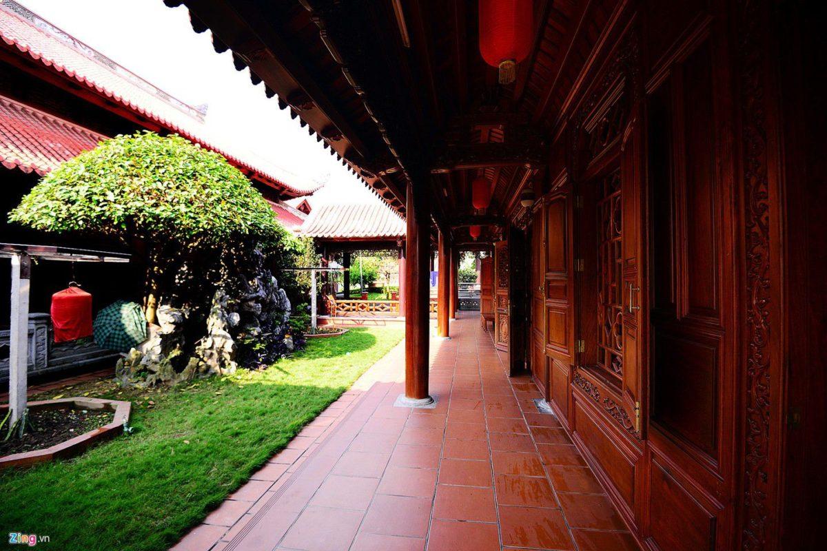 dinh thu 6 qpdesign Tham quan dinh thự bằng gỗ quý của đại gia xứ Nghệ qpdesign