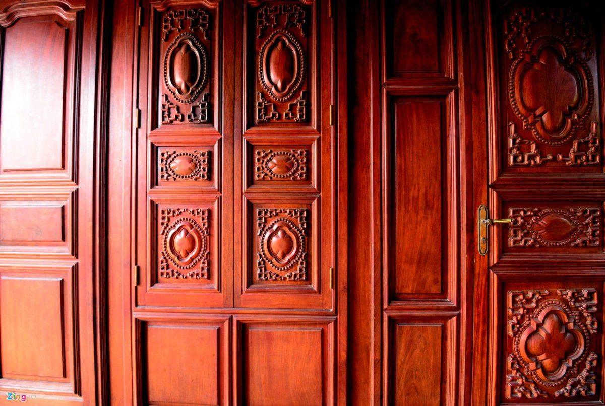 dinh thu 7 qpdesign Tham quan dinh thự bằng gỗ quý của đại gia xứ Nghệ qpdesign