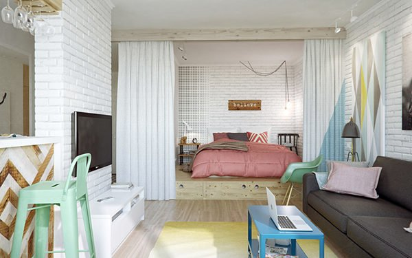 nội thất chung cư nhỏ 3
