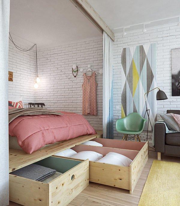 nội thất chung cư nhỏ 4
