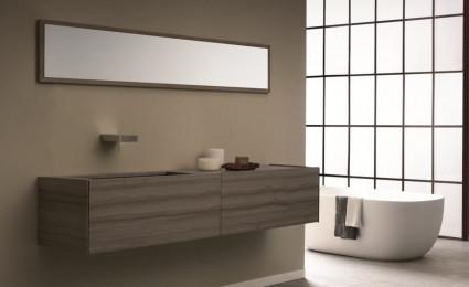 Nội thất phòng tắm Time và Elements hiện đại của Toscoquattro