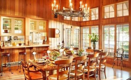 12 mẫu phòng ăn phong cách đồng quê
