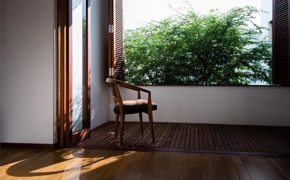 thiet ke nha nho 10 HL House: Thiết kế nhà phố  với 7 không gian xanh ở Quy Nhơn qpdesign