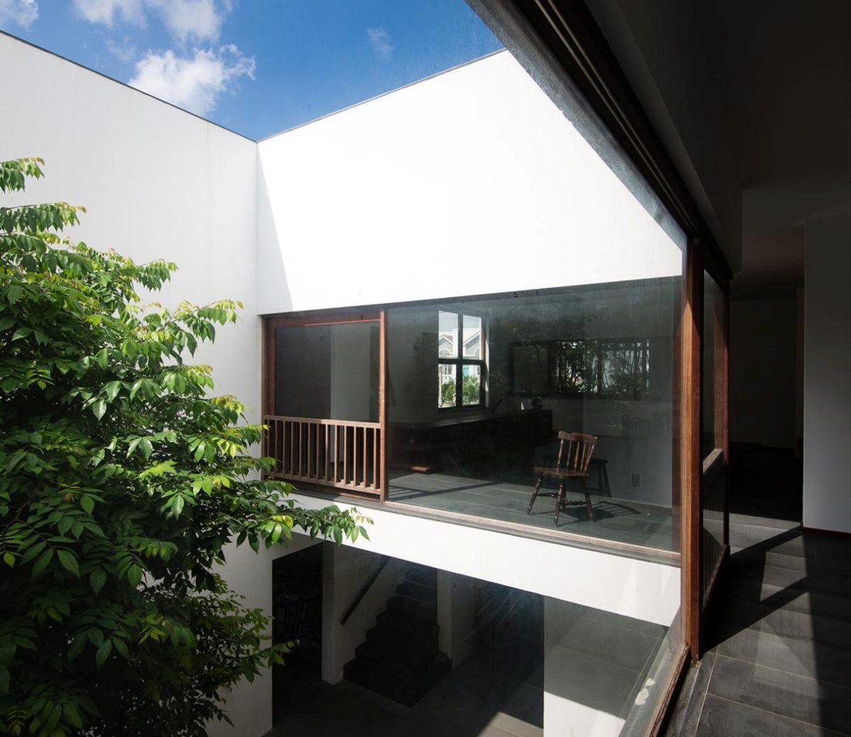 thiet ke nha nho 13 HL House: Thiết kế nhà phố  với 7 không gian xanh ở Quy Nhơn qpdesign