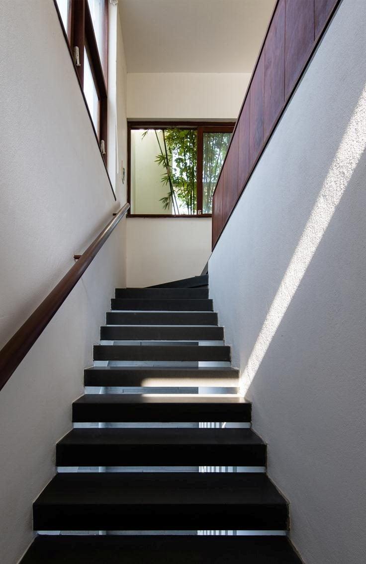 thiet ke nha nho 14 HL House: Thiết kế nhà phố  với 7 không gian xanh ở Quy Nhơn qpdesign