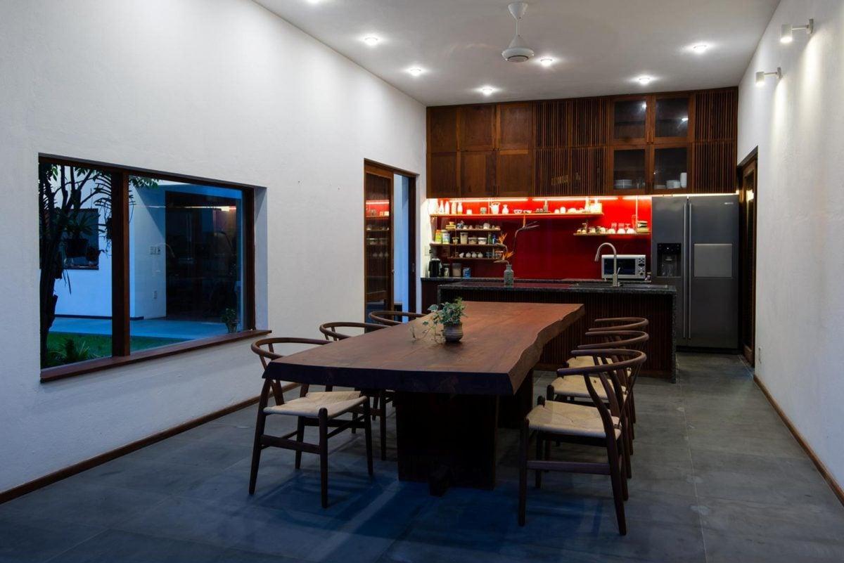 thiet ke nha nho 2 HL House: Thiết kế nhà phố  với 7 không gian xanh ở Quy Nhơn qpdesign