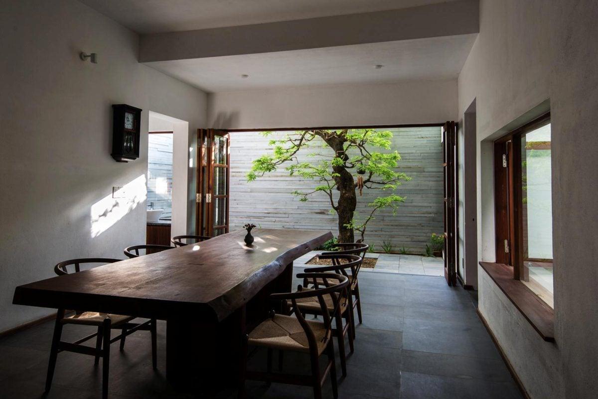 thiet ke nha nho 3 HL House: Thiết kế nhà phố  với 7 không gian xanh ở Quy Nhơn qpdesign