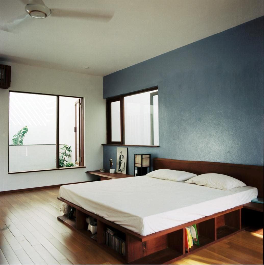 thiet ke nha nho 6 HL House: Thiết kế nhà phố  với 7 không gian xanh ở Quy Nhơn qpdesign
