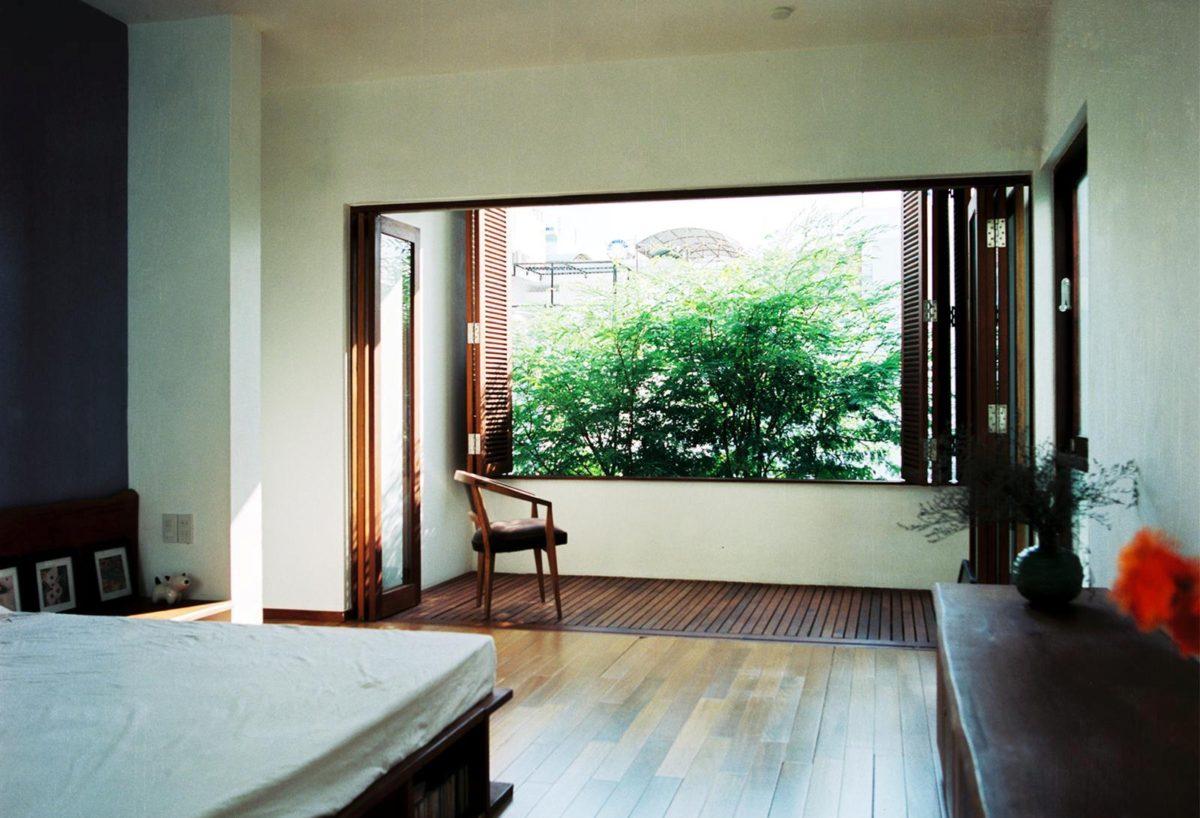 thiet ke nha nho 61 HL House: Thiết kế nhà phố  với 7 không gian xanh ở Quy Nhơn qpdesign