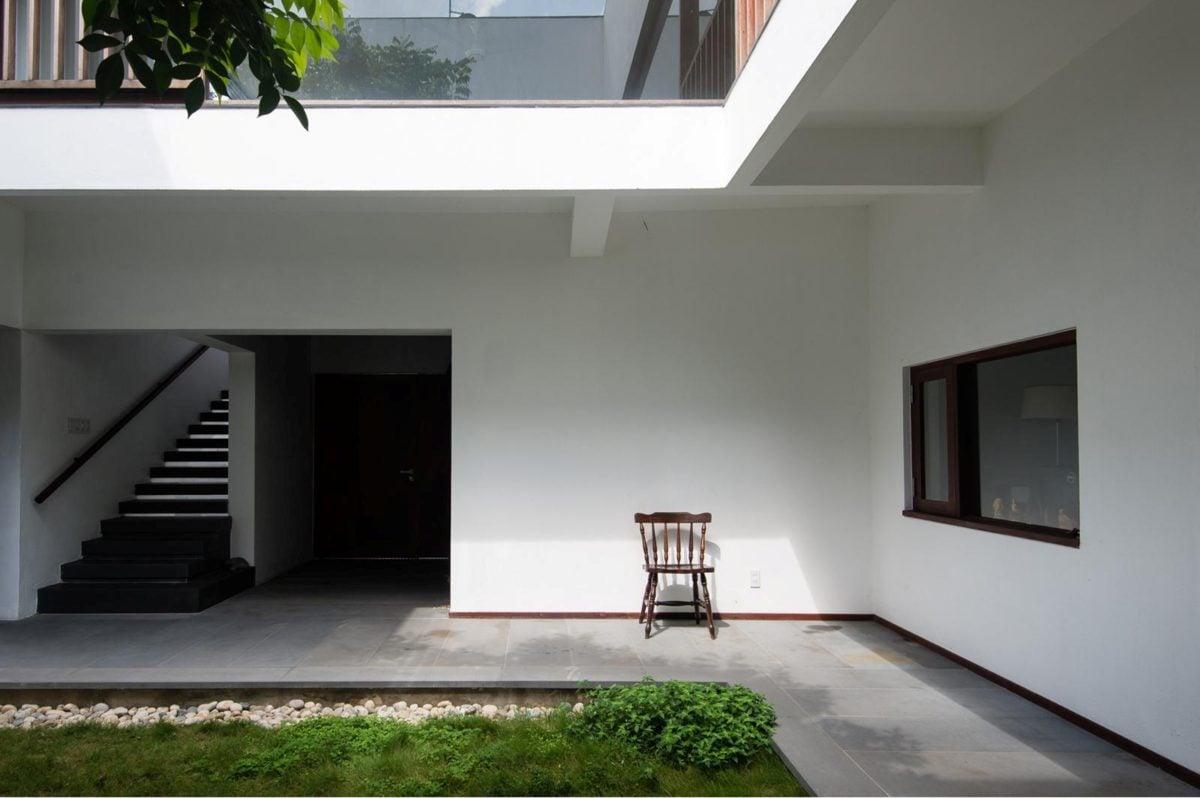 thiet ke nha nho 8 HL House: Thiết kế nhà phố  với 7 không gian xanh ở Quy Nhơn qpdesign
