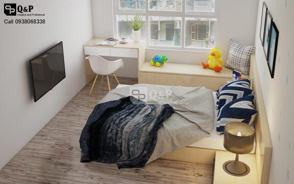 Thiết kế nội thất căn hộ chung cư The