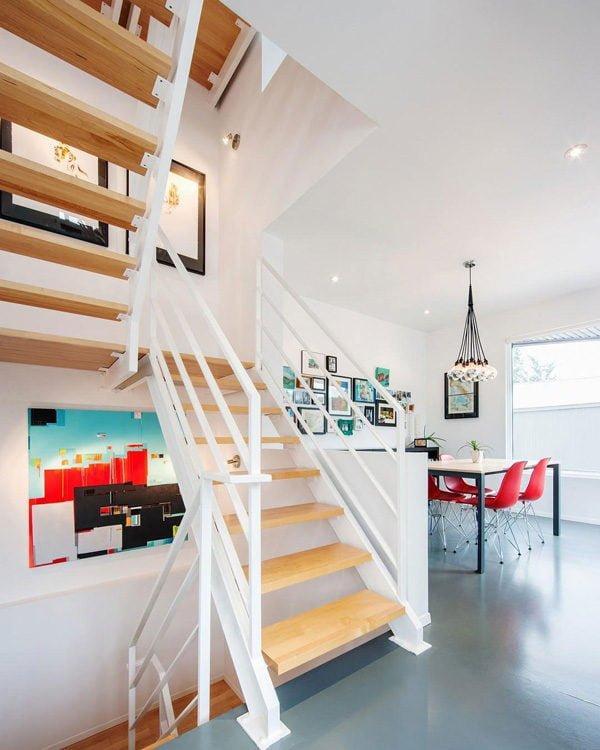 1112 Hintonburg Six: Ngôi nhà hình khối độc đáo tại Canada qpdesign