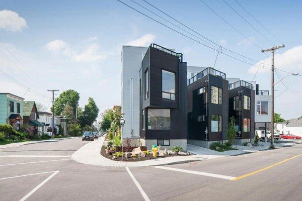 130 Hintonburg Six: Ngôi nhà hình khối độc đáo tại Canada qpdesign