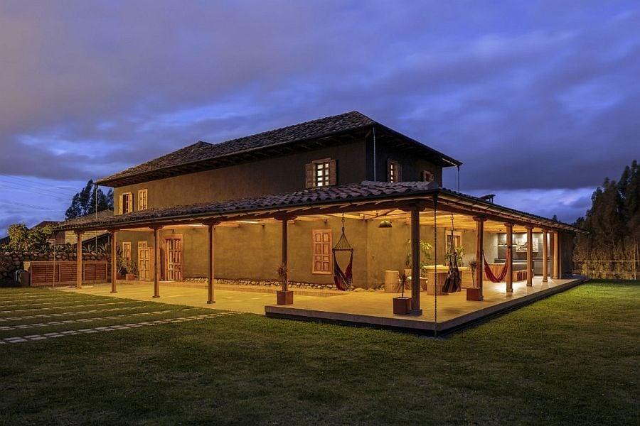 1414 Loma House: Ngôi nhà kết hợp vẻ đẹp truyền thống và hiện đại tại Ecuador qpdesign