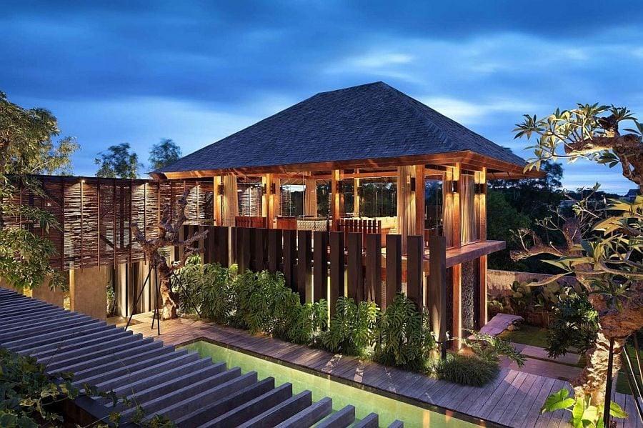 1617 Villa Pecatu Bali: Sự kết hợp hoàn hảo giữa phong cách nhiệt đới và thiết kế hiện đại qpdesign