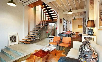 Cải tạo nhà kho thành không gian sống cực kỳ hiện đại