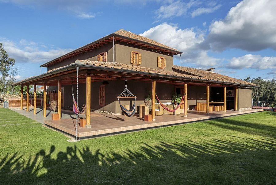180 Loma House: Ngôi nhà kết hợp vẻ đẹp truyền thống và hiện đại tại Ecuador qpdesign