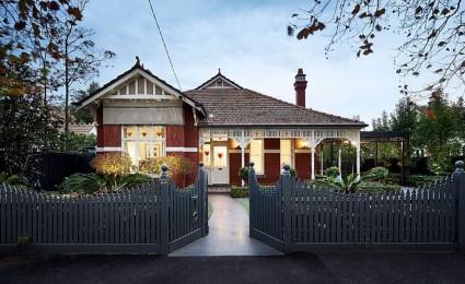 Ngôi nhà kết hợp hai phong cách hiện đại và cổ điển tại Úc