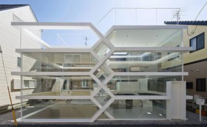 S- House: Kiến trúc nhà ở ba chiều đáng kinh ngạc tại Nhật Bản