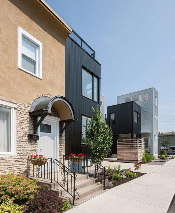 311 Hintonburg Six: Ngôi nhà hình khối độc đáo tại Canada qpdesign