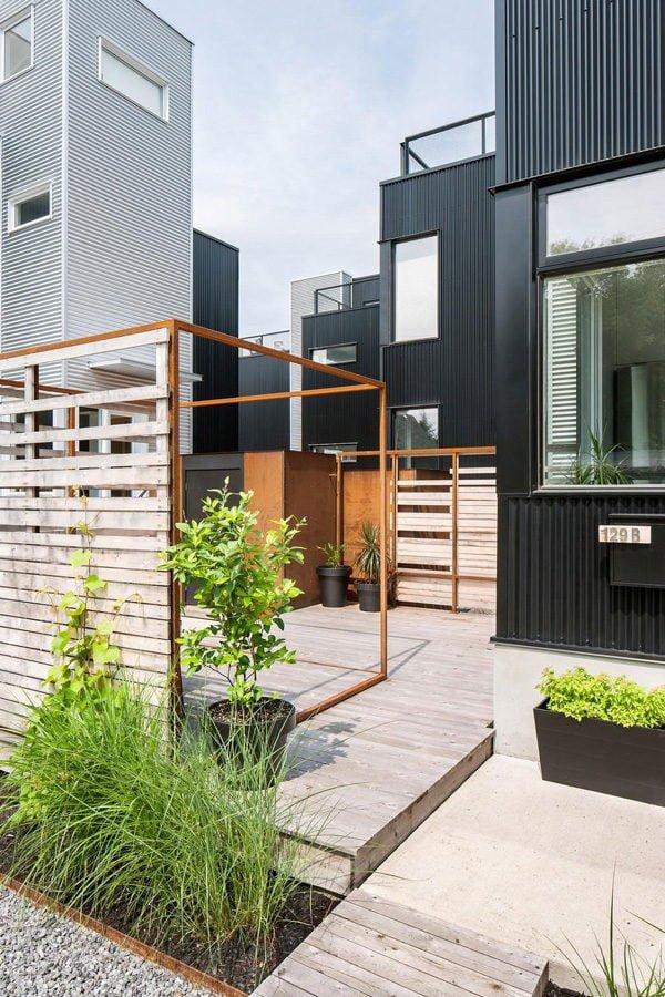 411 Hintonburg Six: Ngôi nhà hình khối độc đáo tại Canada qpdesign