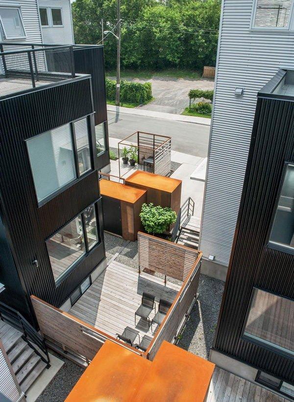 511 Hintonburg Six: Ngôi nhà hình khối độc đáo tại Canada qpdesign