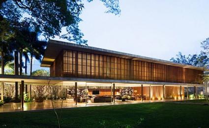 Biệt thự ấn tượng với thiết kế hiện đại tại Brazil