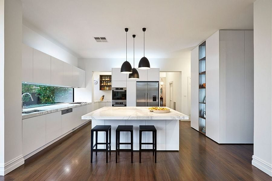 824 Ngôi nhà kết hợp hai phong cách hiện đại và cổ điển tại Úc qpdesign