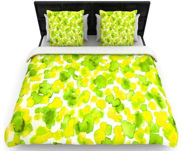83 20 loại drap giường linen tông xanh lá cho phòng ngủ thêm sức sống qpdesign