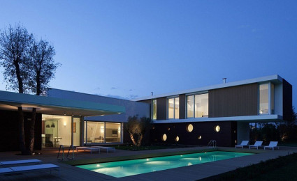 L.A Modern – Biệt thự phong cách hiện đại tại miền quê nước Ý