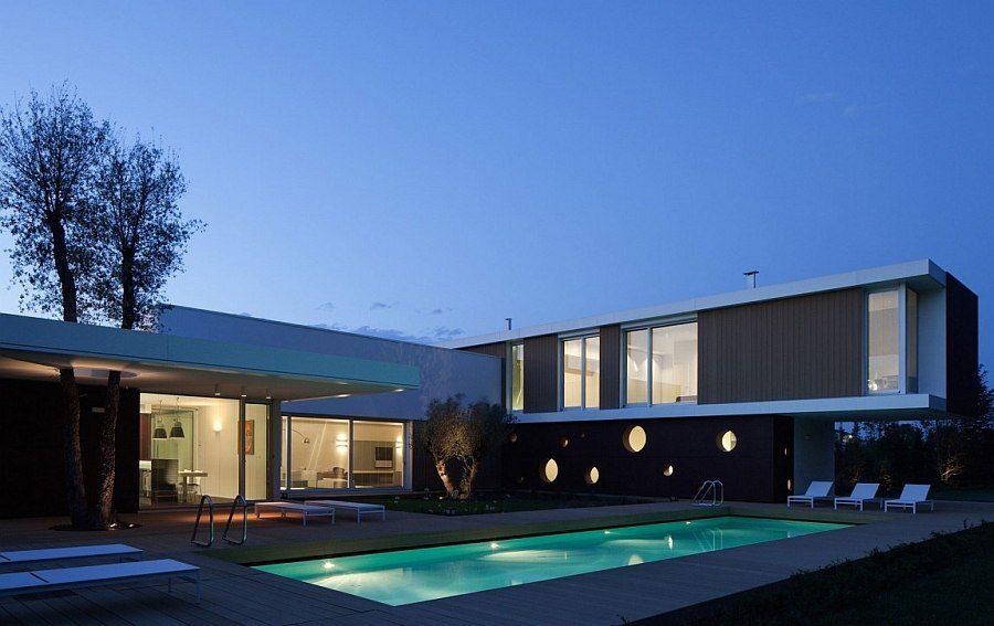 L.A Modern - Biệt thự phong cách hiện đại tại miền quê nước Ý