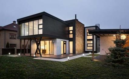 Buddy's House: Ngôi nhà ấn tượng với kiến trúc mạnh mẽ