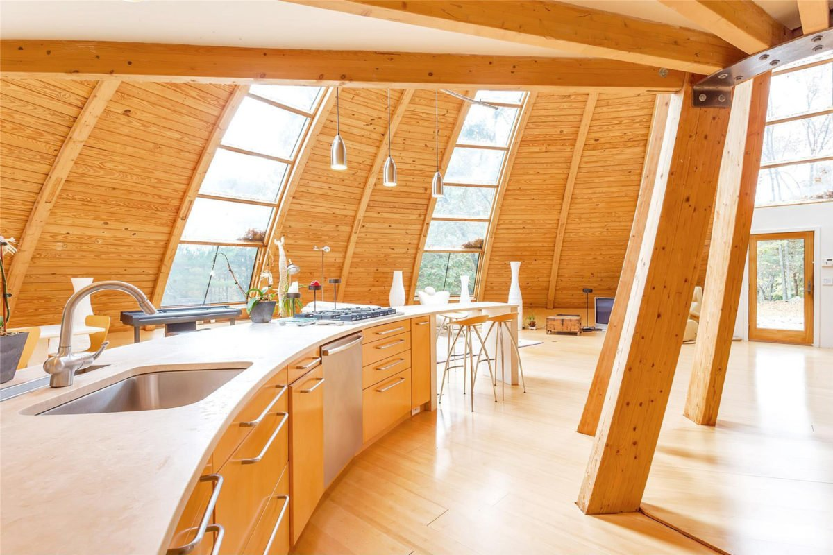 sloping-dome-home-design