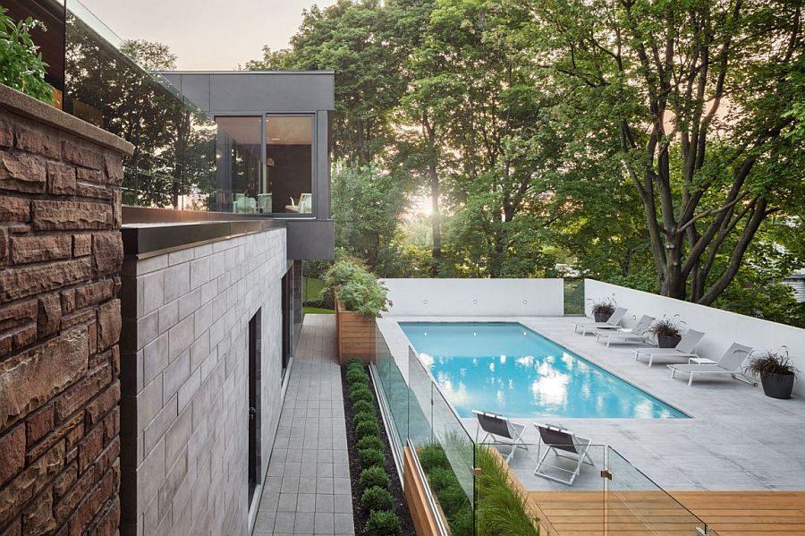 1024 Ngôi nhà một tầng được mở rộng thành biệt thự hồ bơi sang trọng qpdesign