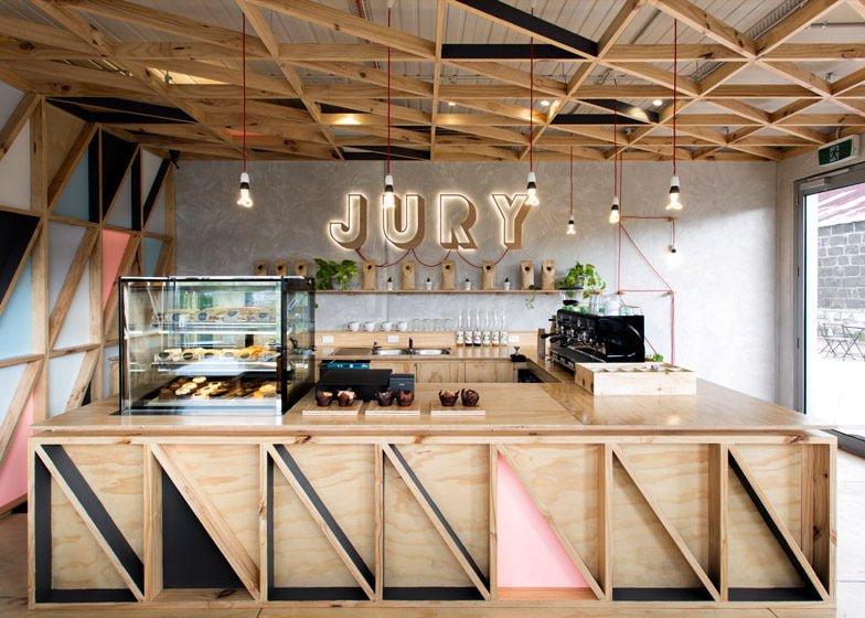 1030 Jury Cafe   Quán cafe đầy màu sắc với thiết kế sáng tạo tại Úc qpdesign