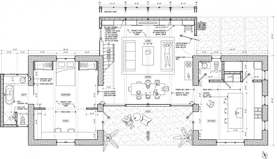 1046 Ngôi nhà đơn giản và ấm cúng tại California qpdesign
